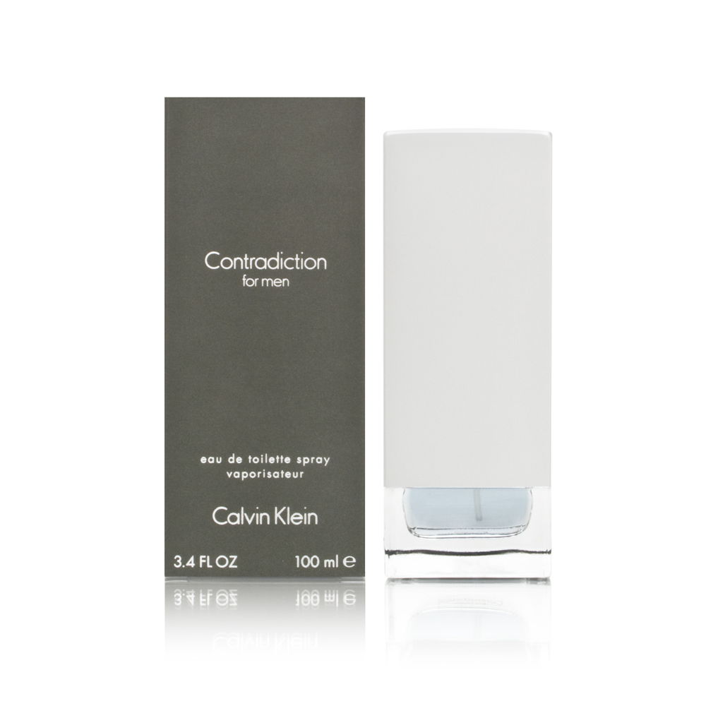 Contradiction by Calvin Klein for Men 3.4oz EDT Spray Shower Gel