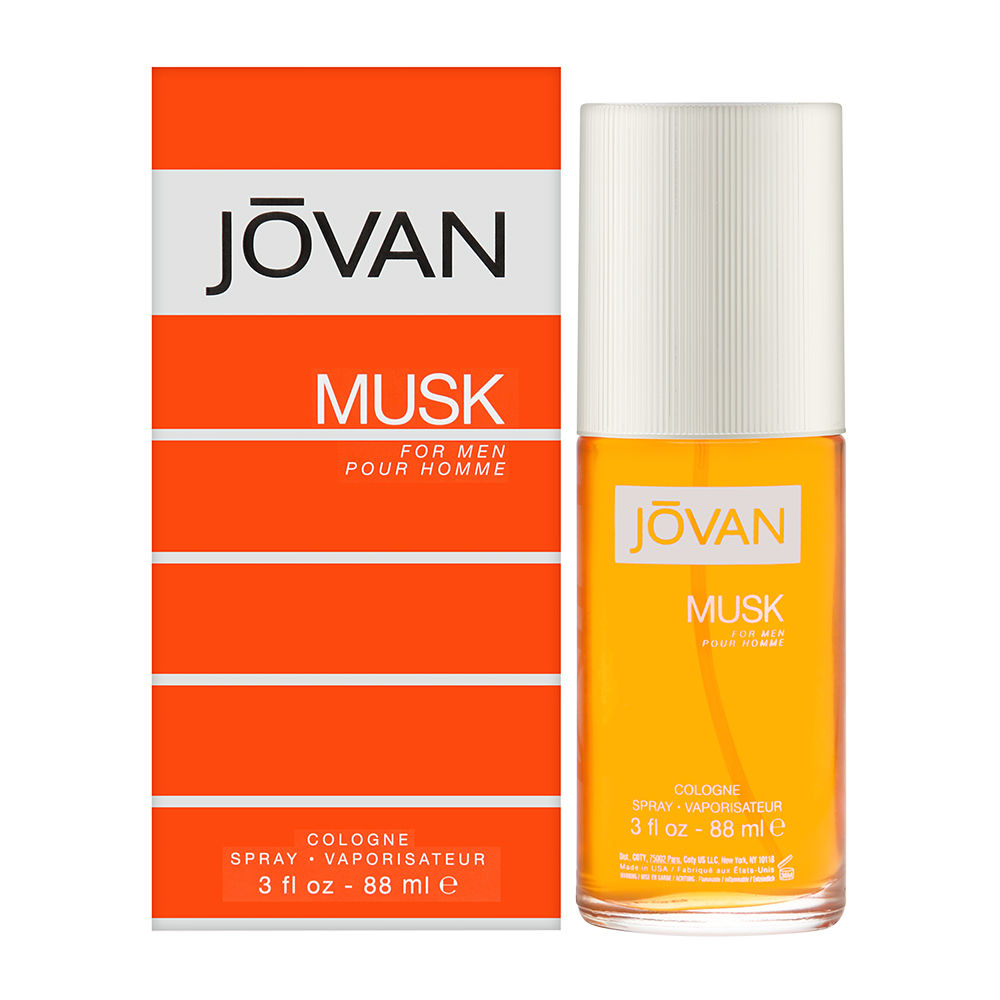 Jovan Musk by Coty for Men 3.0oz Cologne Spray Shower Gel