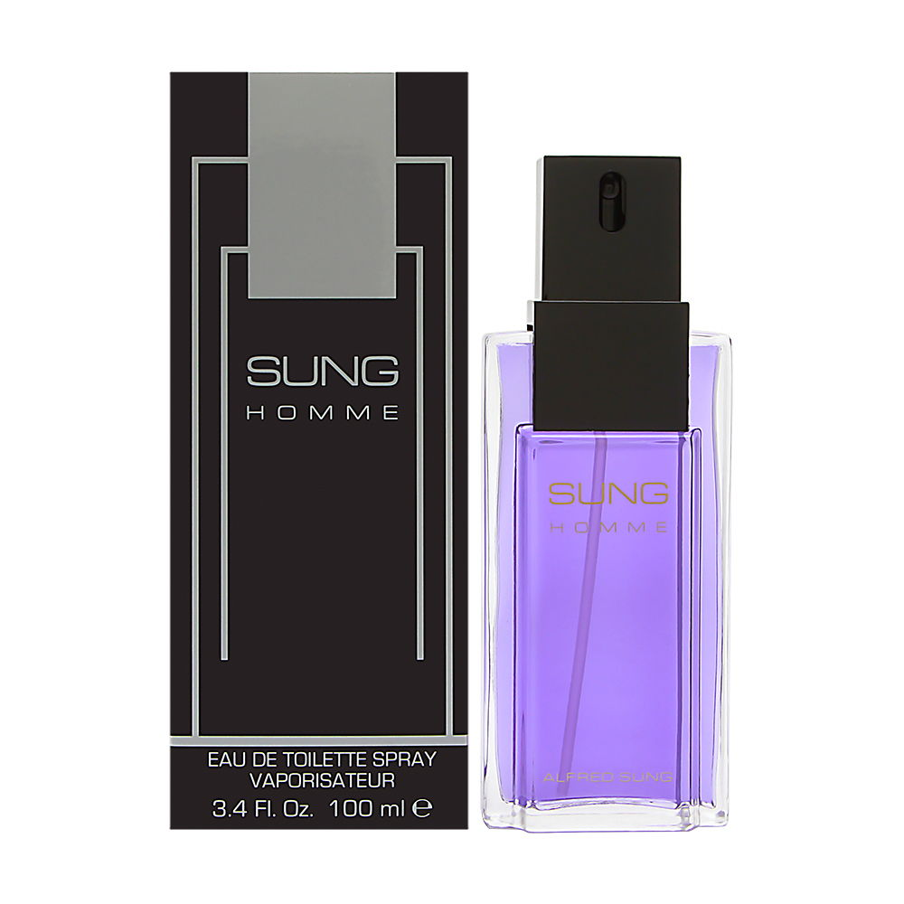 Sung Homme by Alfred Sung 3.4oz EDT Spray Shower Gel