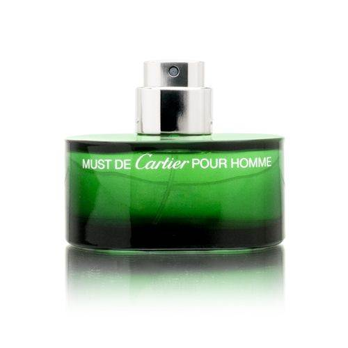 Must Pour Homme Essence by Cartier for Men 1.6oz Cologne EDT Spray (Tester) Shower Gel