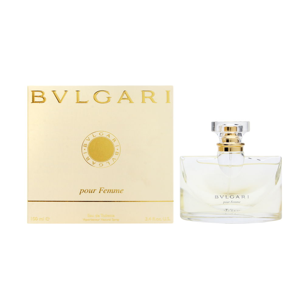 Bvlgari Pour Femme by Bvlgari 3.4oz EDT Spray Shower Gel