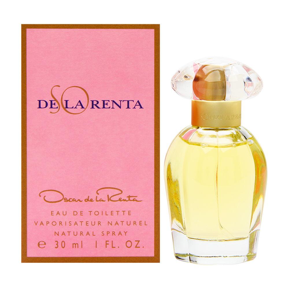 So de la Renta by Oscar de la Renta for Women 1.0oz EDT Spray Shower Gel