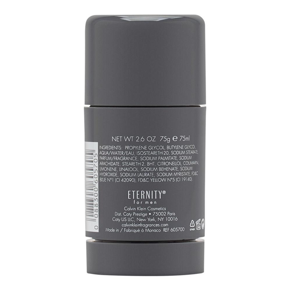 Eternity by Calvin Klein for Men 2.6oz Deodorant Stick