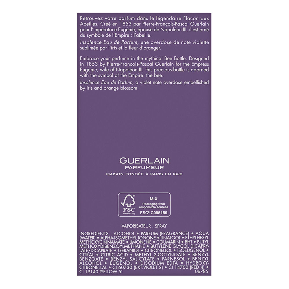 Insolence by Guerlain for Women 3.3oz EDP Spray Shower Gel