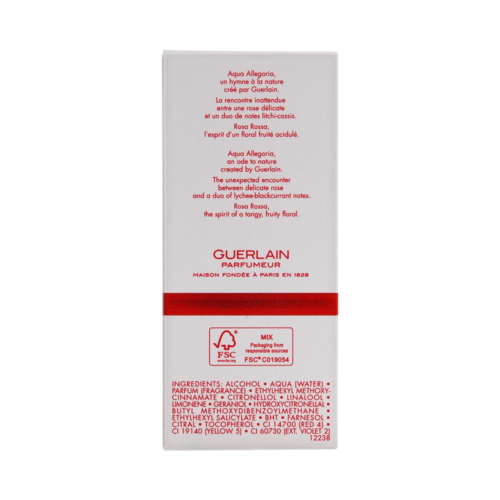 Aqua Allegoria Rosa Rossa by Guerlain for Women 2.5oz EDT Spray Shower Gel