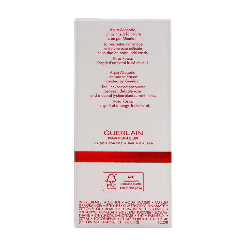 Aqua Allegoria Rosa Rossa by Guerlain for Women 4.2oz EDT Spray Shower Gel