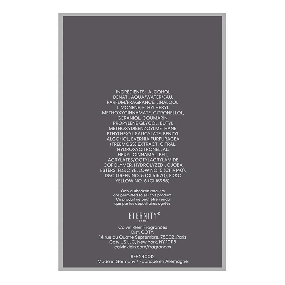 Coty Eternity by Calvin Klein for Men 6.7oz EDT Spray