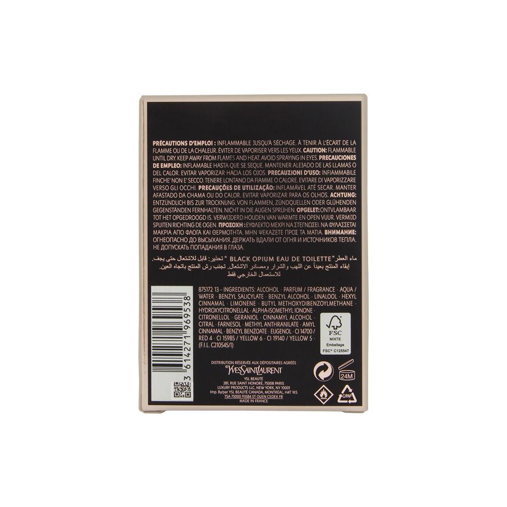 LVMH Black Opium by Yves Saint Laurent for Women 1.6oz EDT Spray