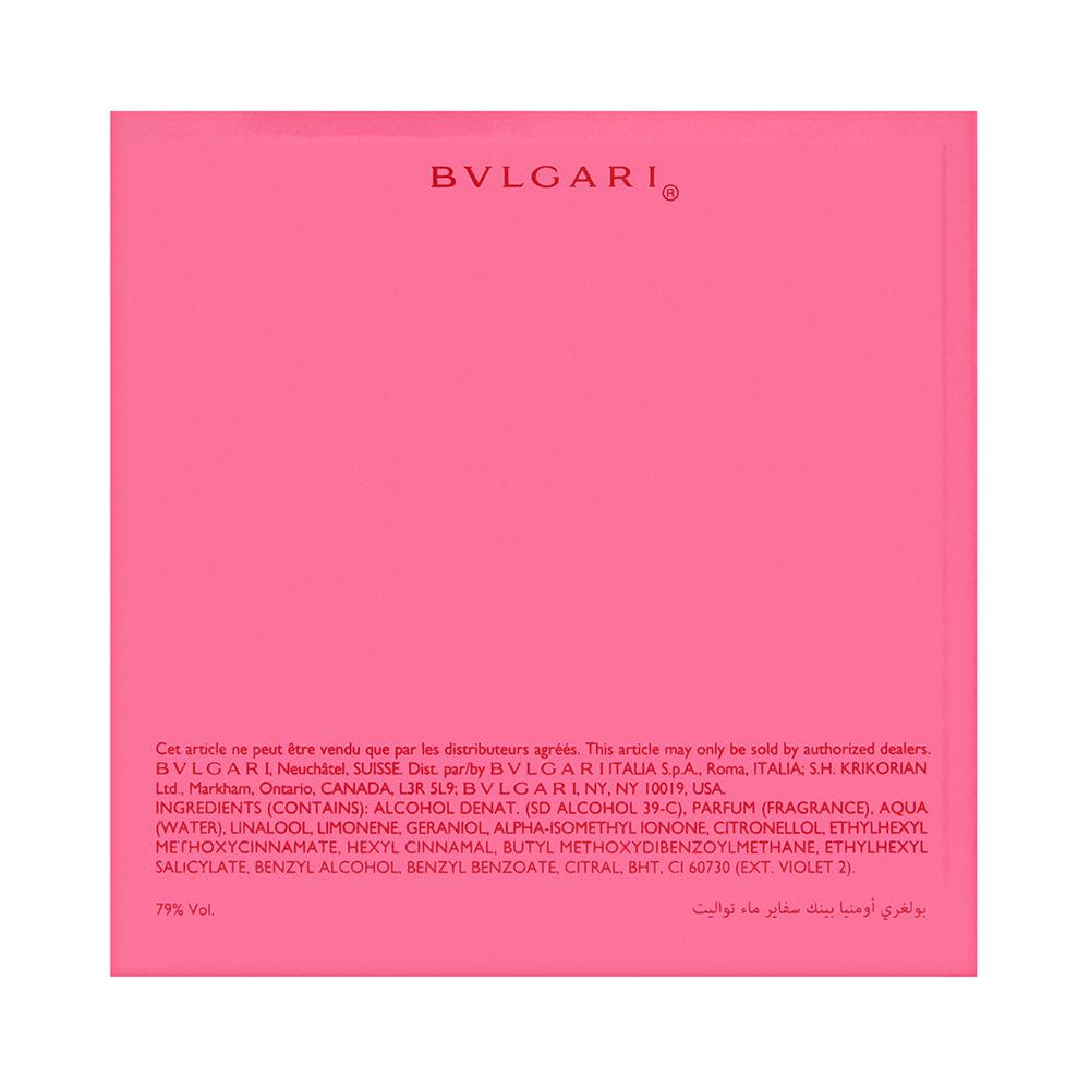 Bvlgari Omnia Pink Sapphire for Women 2.2oz EDT Spray Shower Gel