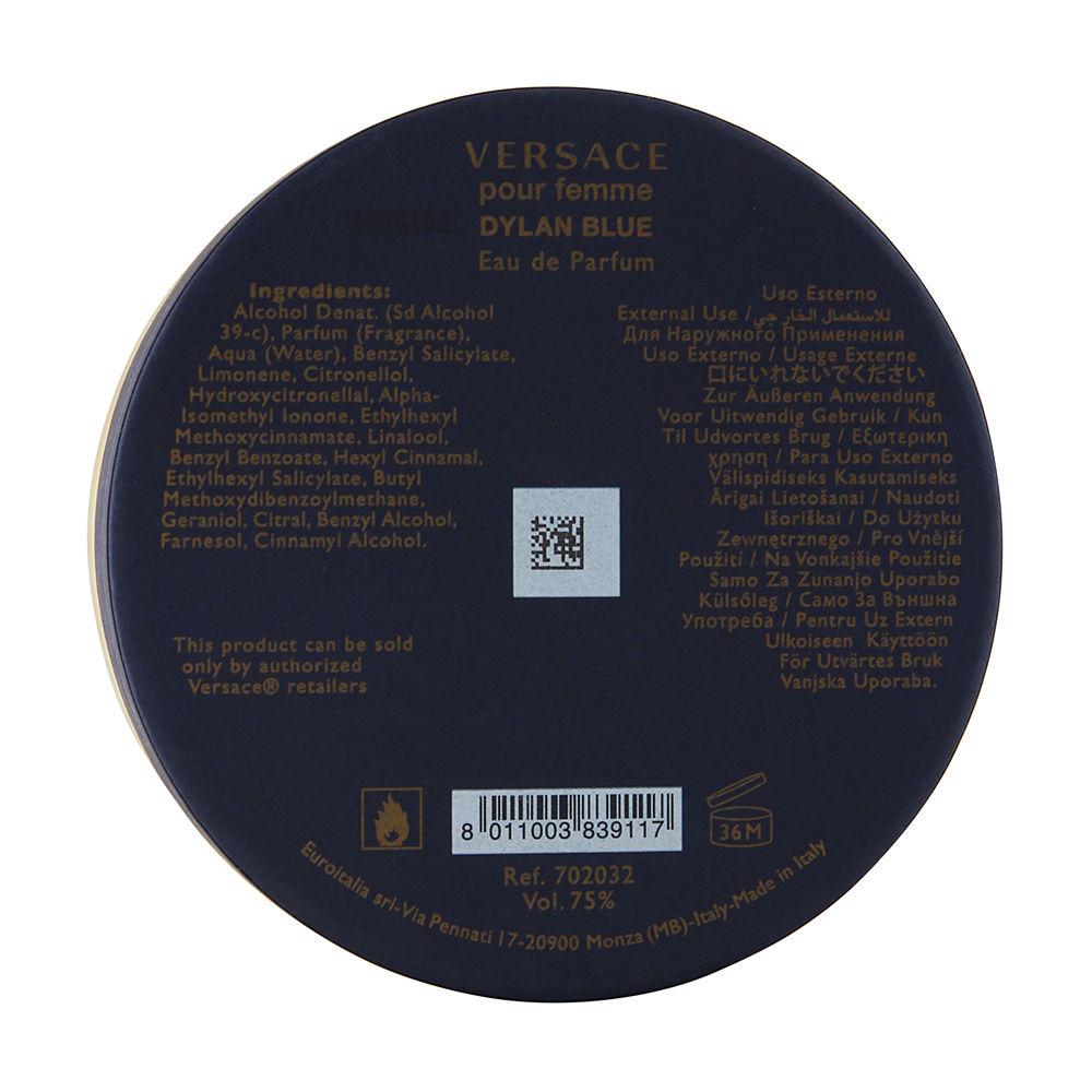 Versace Dylan Blue Pour Femme 3.4oz EDP Spray