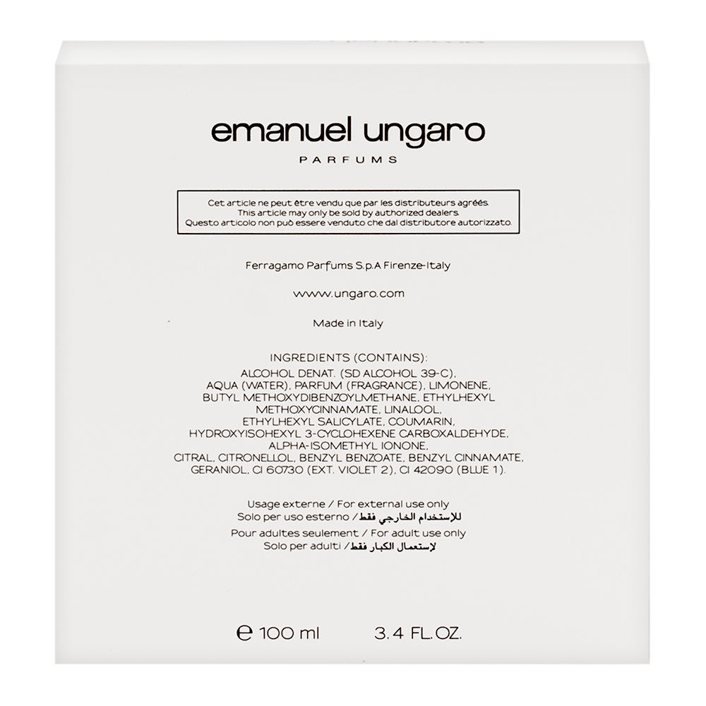 Ungaro for men by Emanuel Ungaro 3.4oz EDT Spray