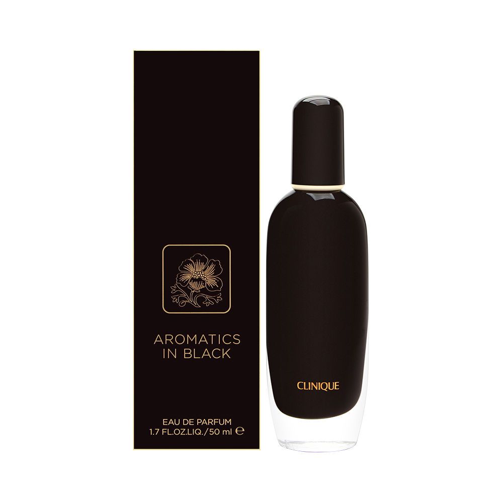 Estee Lauder Aromatics In Black by Clinique for Women 1.7oz EDP Spray Shower Gel