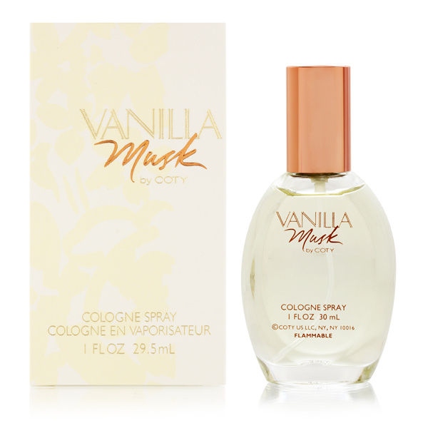 Vanilla Musk by Coty for Women 1.0oz Cologne Spray