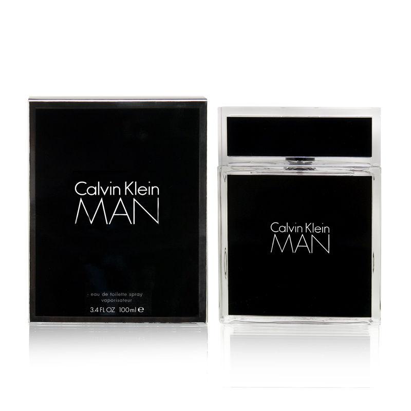Calvin Klein Man by Calvin Klein  men 3.4oz EDT Spray Shower Gel
