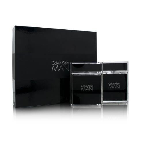 Calvin Klein Man by Calvin Klein  men 3.4oz EDT Spray Aftershave Gift Set