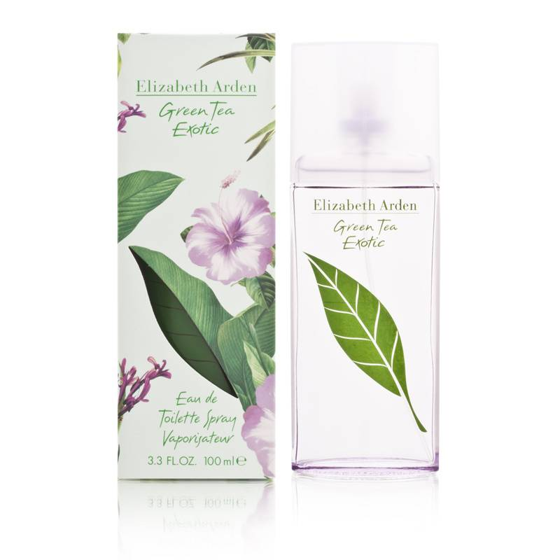 Green Tea Exotic by Elizabeth Arden for Women 3.3oz EDT Spray Shower Gel