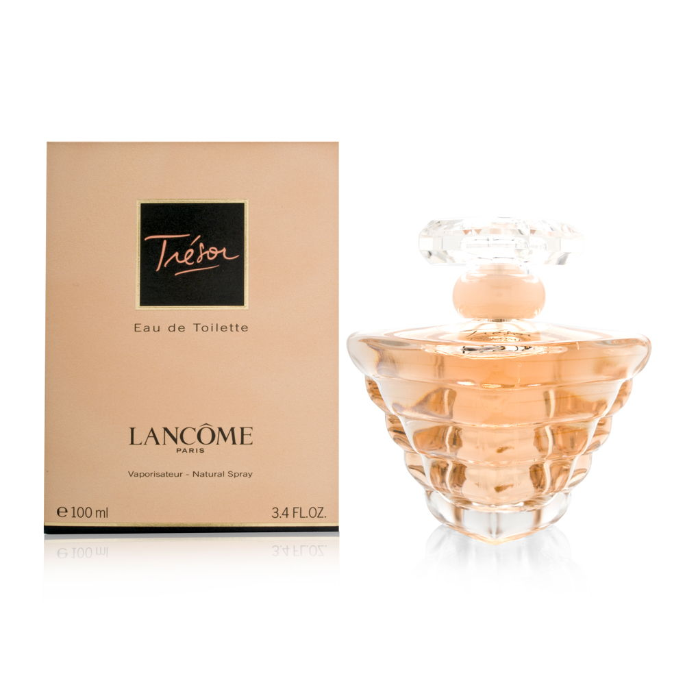 Tresor by Lancome for Women 3.4oz EDT Spray Shower Gel