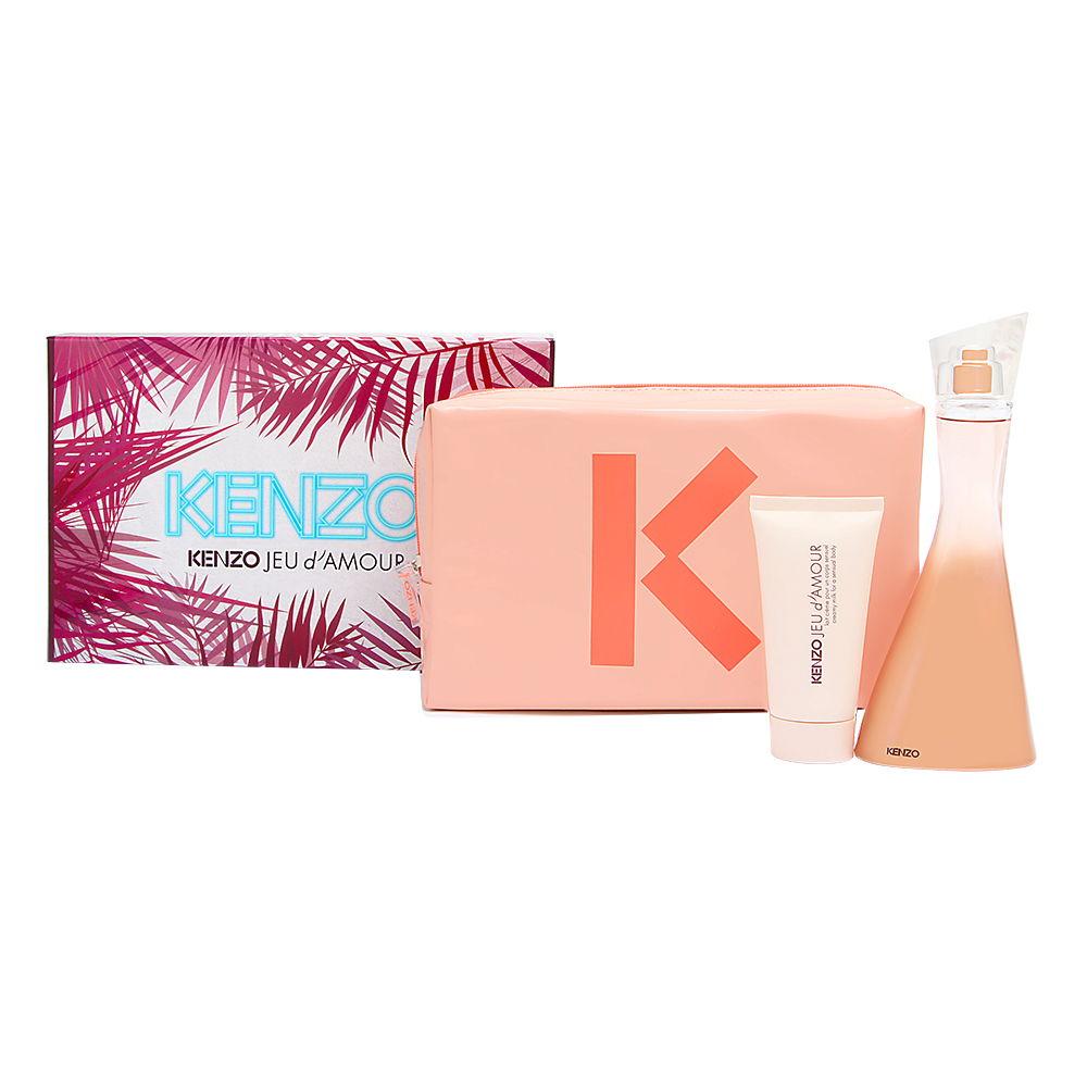 LVMH Kenzo Jeu d'Amour for Women 3.4oz EDP Spray Gift Set