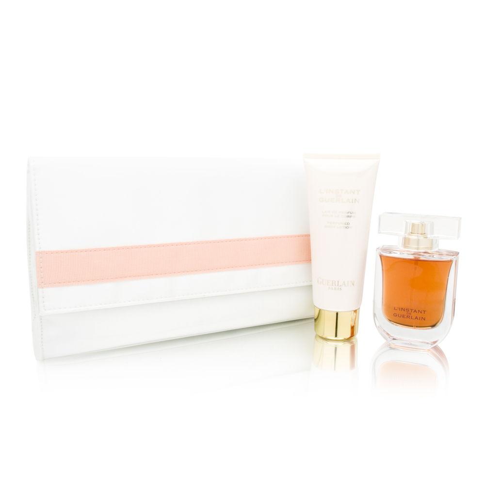 L'Instant de Guerlain for Women 1.7oz EDT Spray Body Lotion Gift Set