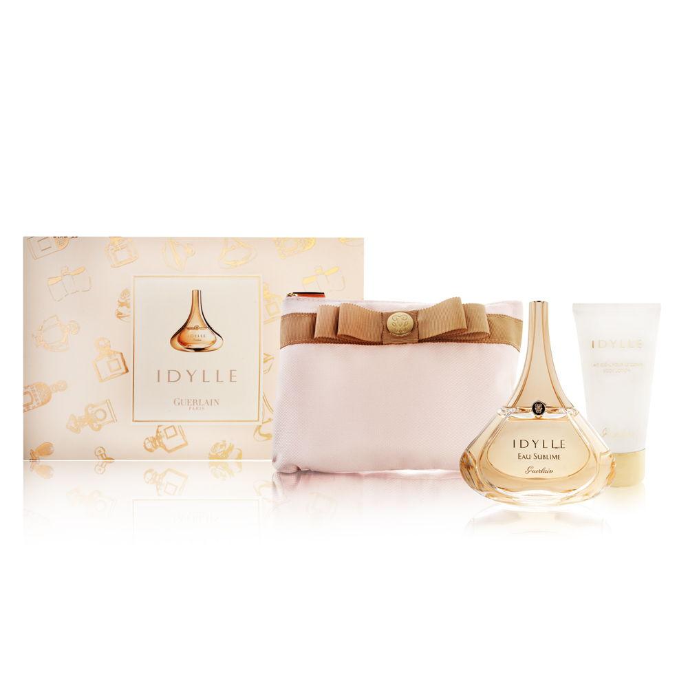 Idylle by Guerlain for Women 1.6oz EDP Spray Body Lotion Gift Set