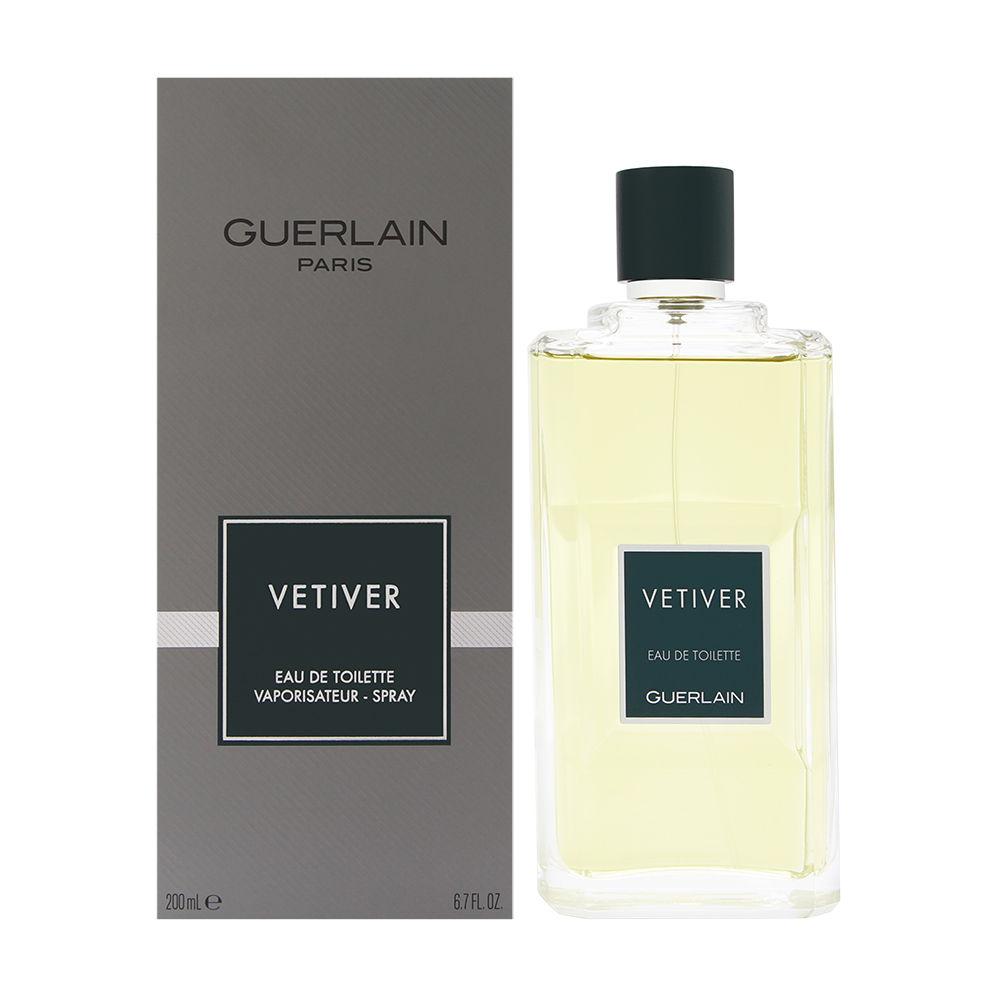 Vetiver by Guerlain for Men 6.8oz EDT Spray Shower Gel