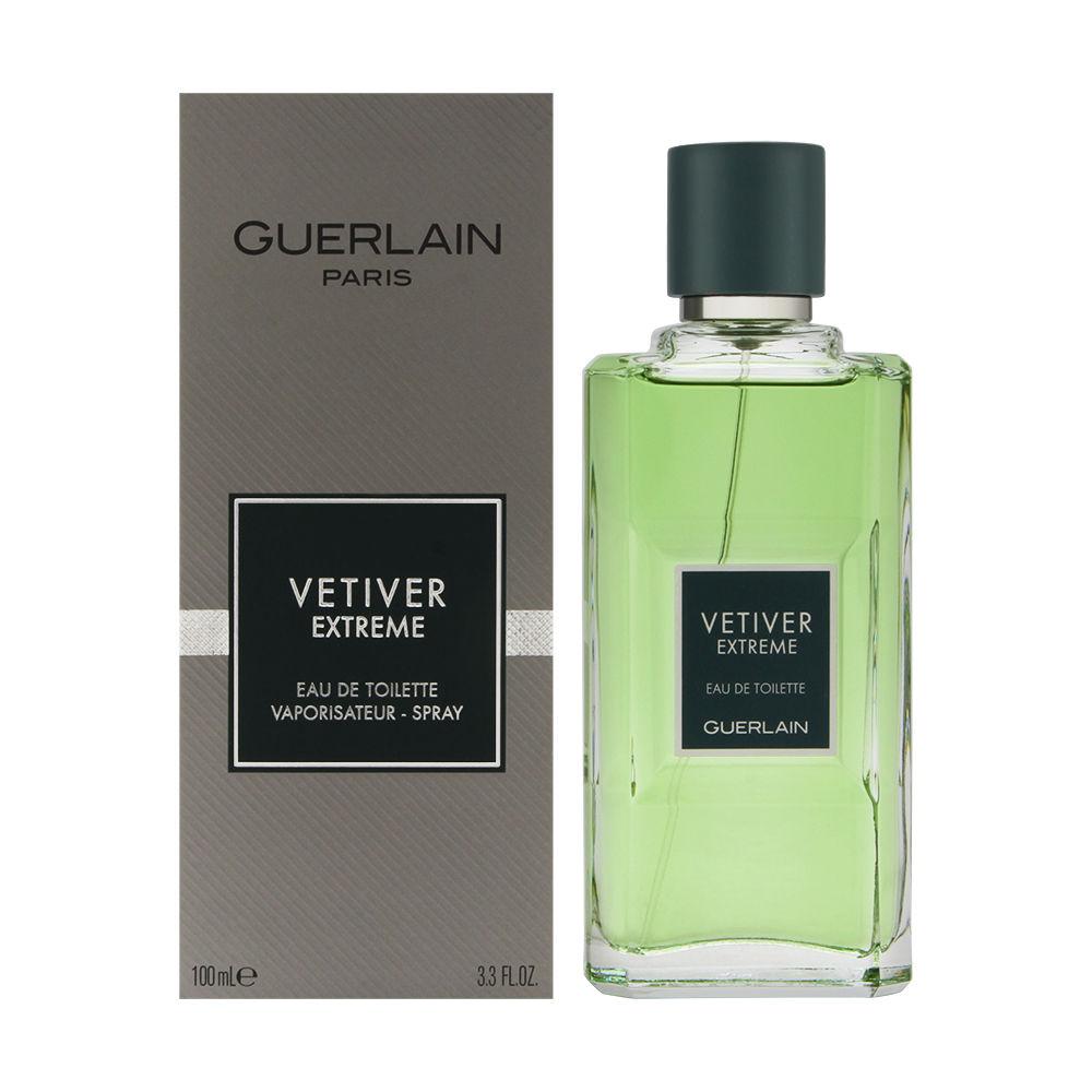 Vetiver Extreme by Guerlain for Men 3.4oz EDT Spray Shower Gel