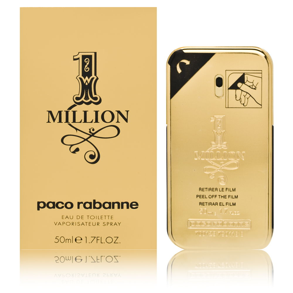 Puig 1 Million by Paco Rabanne for Men 1.6oz EDT Spray Shower Gel