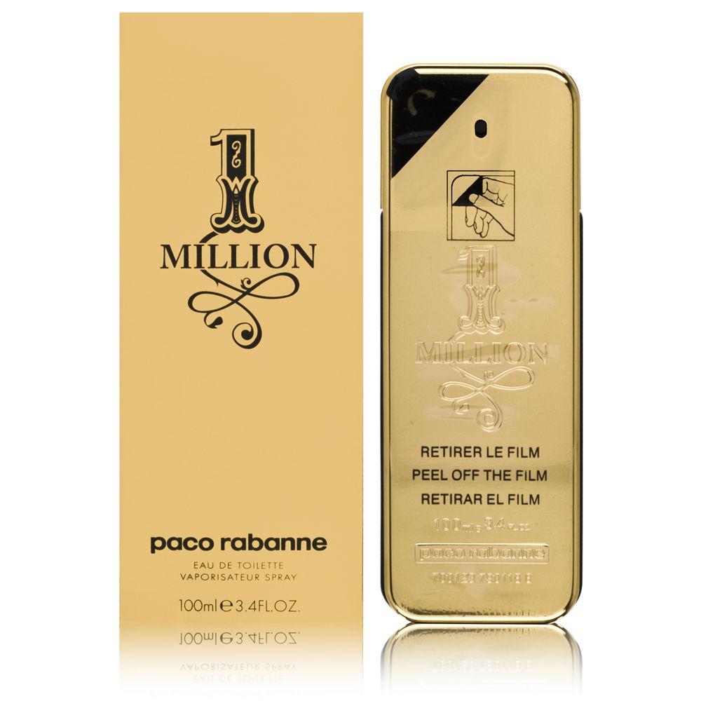 Puig 1 Million by Paco Rabanne for Men 3.4oz EDT Spray Shower Gel