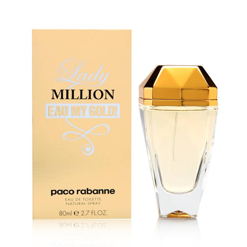 804a7b141 Buy Lady Million Eau My Gold Paco Rabanne for women Online Prices ...