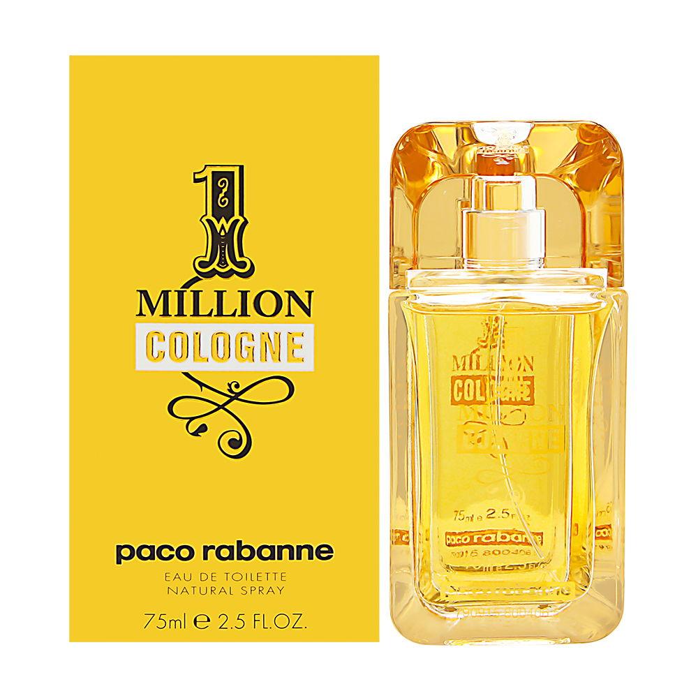 Puig 1 Million Cologne by Paco Rabanne for Men 2.5oz EDT Spray Shower Gel