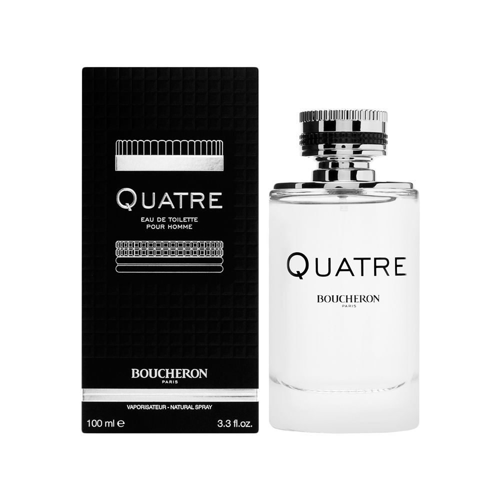 Inter Parfums Boucheron Quatre Pour Homme 3.3oz EDT Spray
