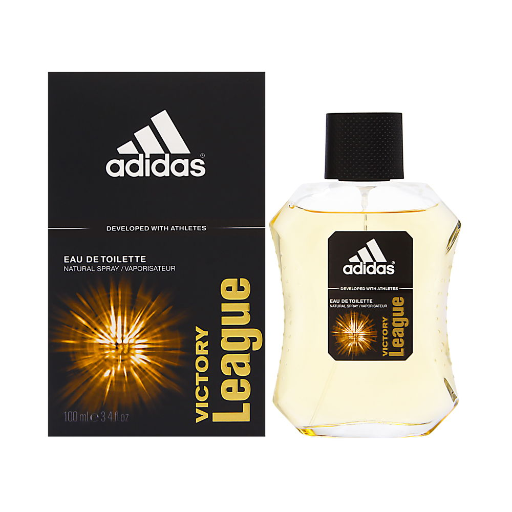 Adidas Victory League by Coty for Men 3.4oz EDT Spray Shower Gel