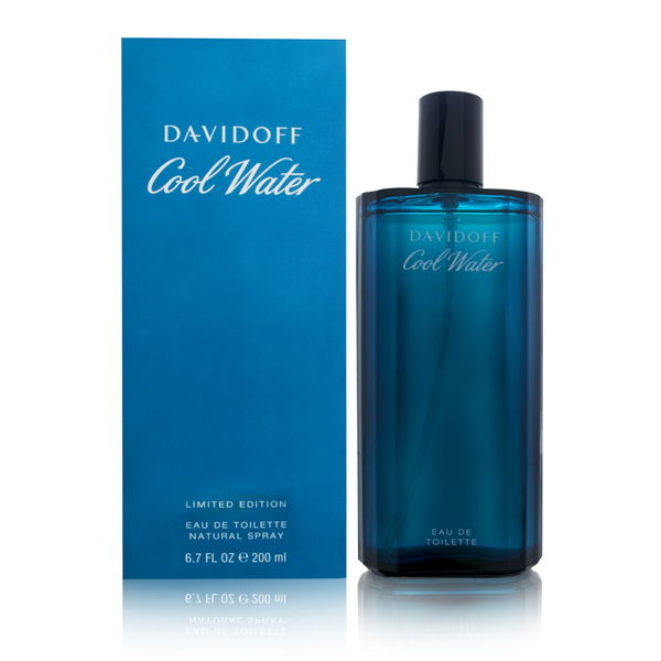 Coty Cool Water by Davidoff for Men 6.7oz EDT Spray