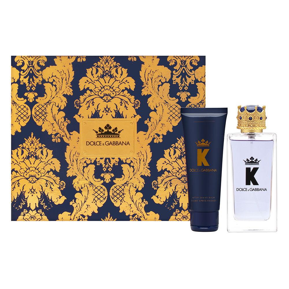 Dolce & Gabbana K for Men 3.3oz EDT Spray Aftershave Gift Set