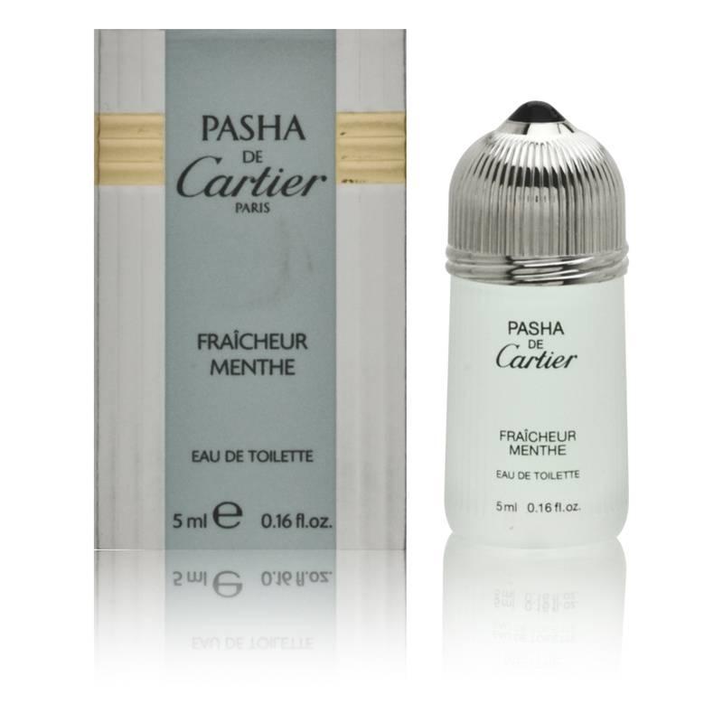 Pasha de Cartier Fraicheur Menthe by Cartier for Men 0.16oz Cologne EDT