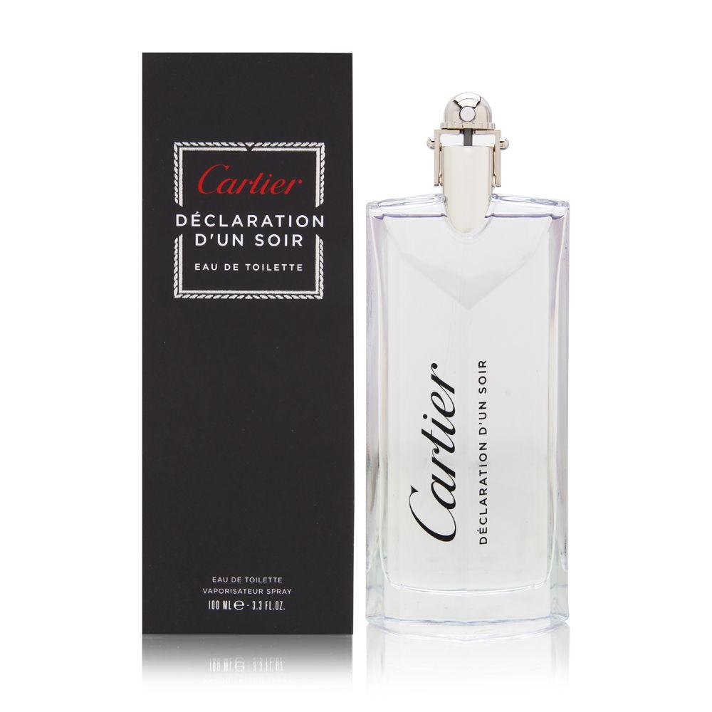 Declaration D'Un Soir by Cartier for Men 3.3oz EDT Spray Shower Gel