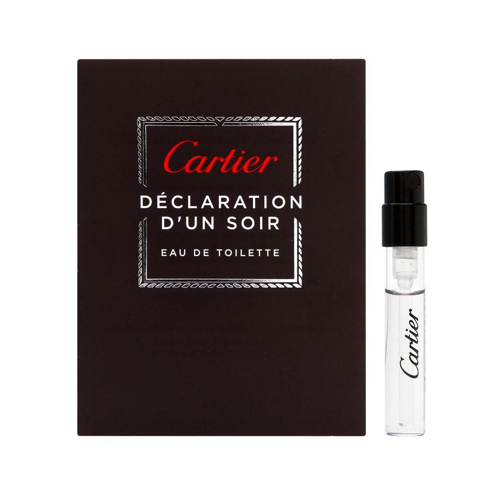 Declaration D'Un Soir by Cartier for Men 0.05oz Cologne EDT Spray