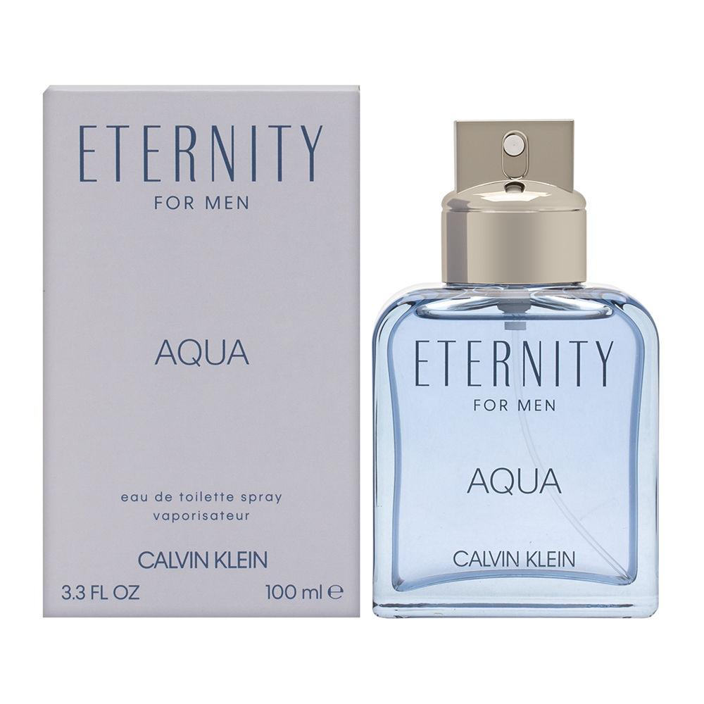 Eternity Aqua by Calvin Klein for Men 3.4oz EDT Spray