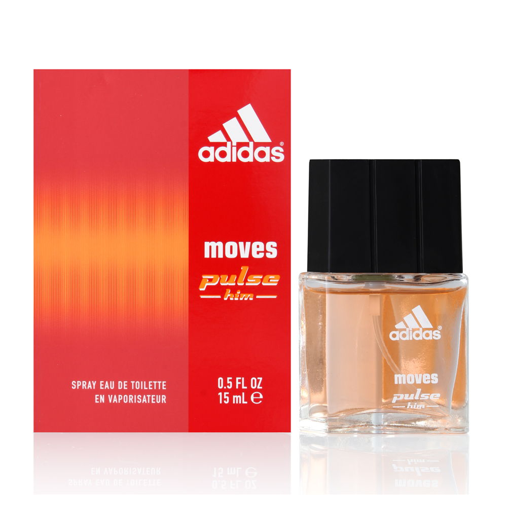 Adidas Moves Pulse by Coty for Men 0.5oz EDT Spray