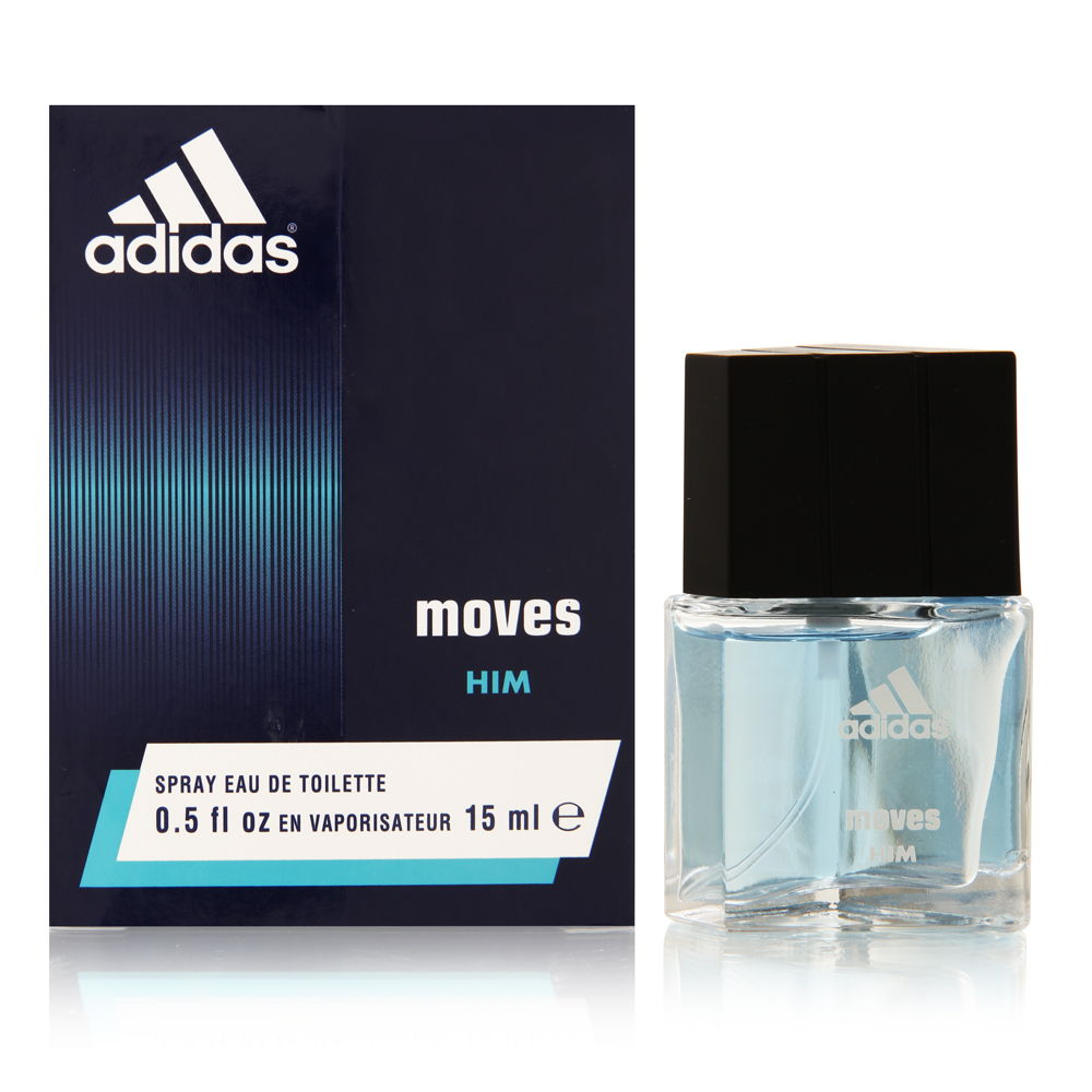 Adidas Moves by Coty for Men 0.5oz EDT Spray