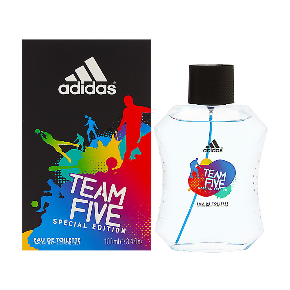 Adidas Team Five by Coty for Men 3.4oz EDT Spray