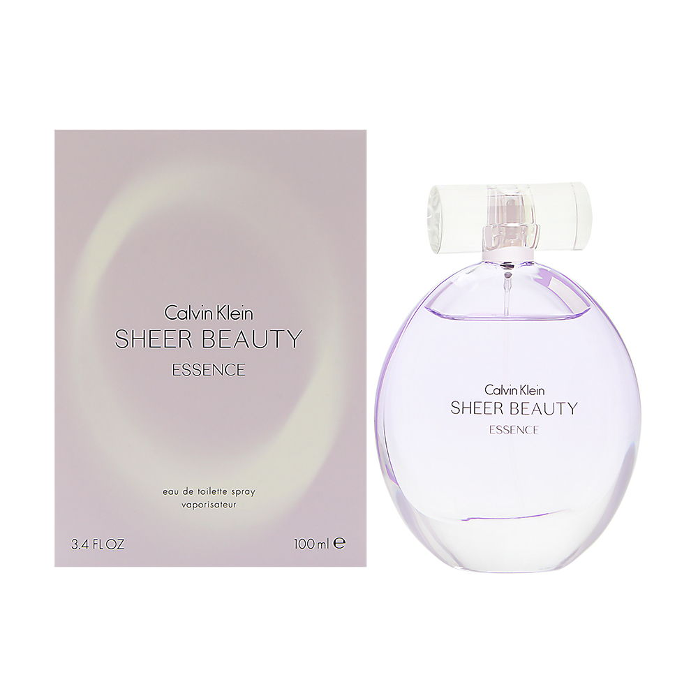 Coty Calvin Klein Sheer Beauty Essence for Women 3.4oz EDT Spray
