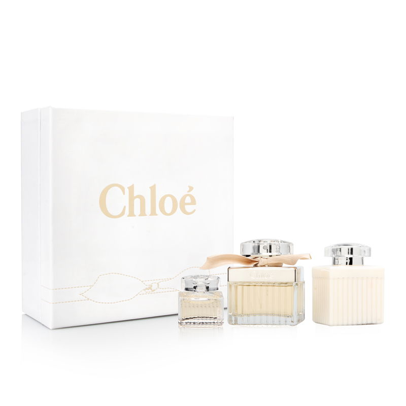 Chloe by Parfums Chloe for Women 2.5oz EDP Spray Body Lotion Gift Set