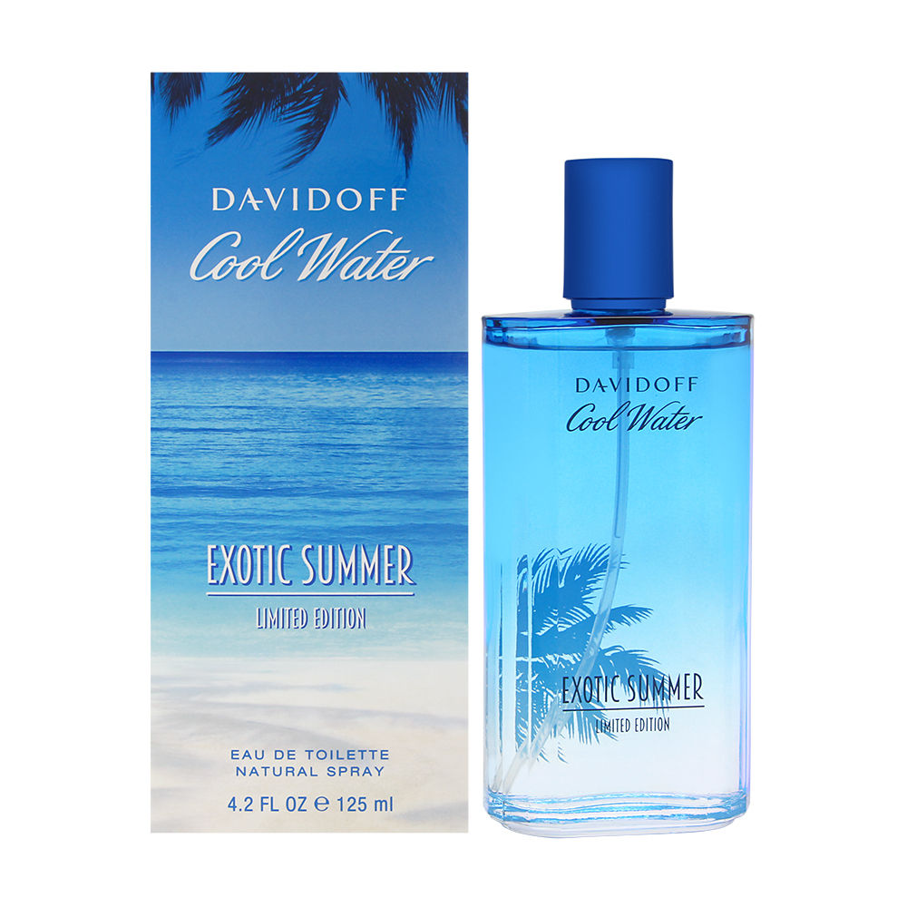 Cool Water Exotic Summer by Davidoff for Men 4.2oz EDT Spray