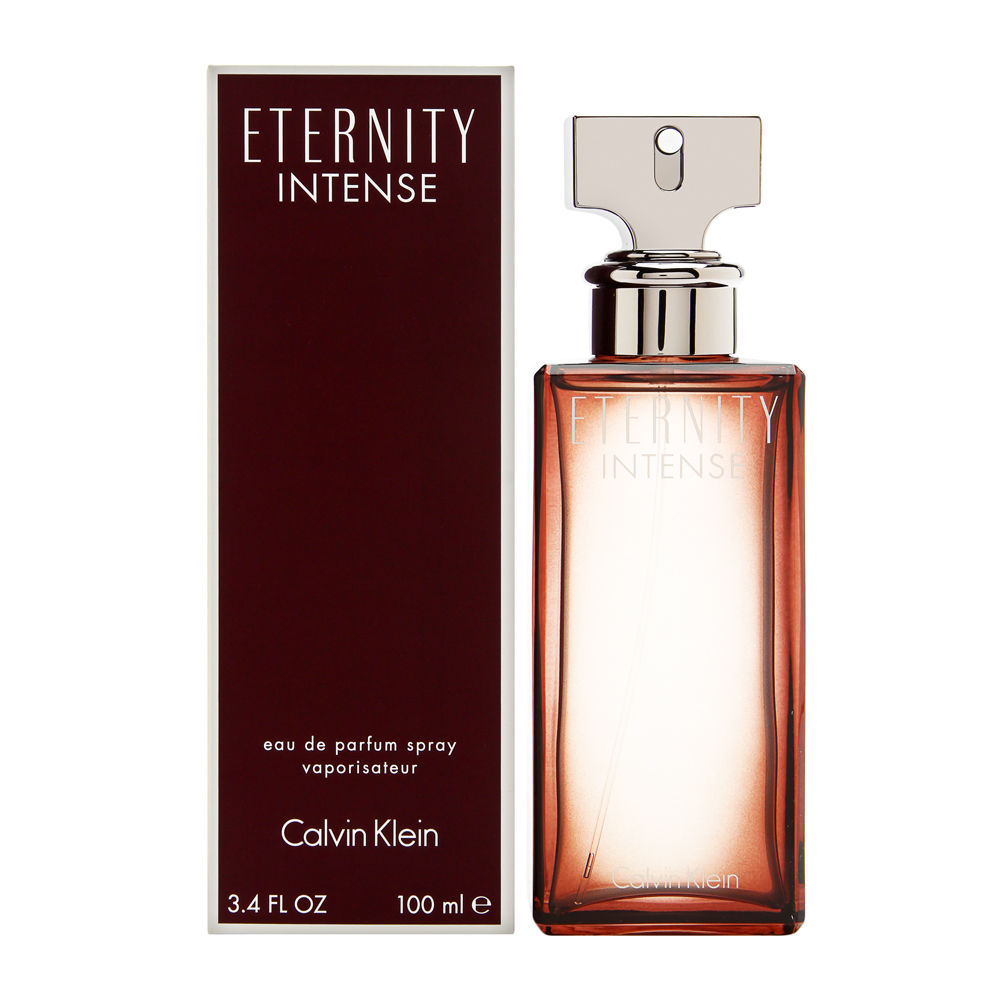 Coty Eternity Intense by Calvin Klein for Women 3.4oz EDP Spray Shower Gel