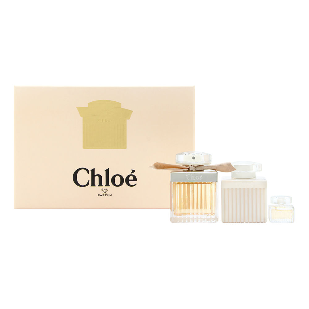 Coty Chloe by Parfums Chloe for Women 2.5oz EDP Spray Body Lotion Gift Set