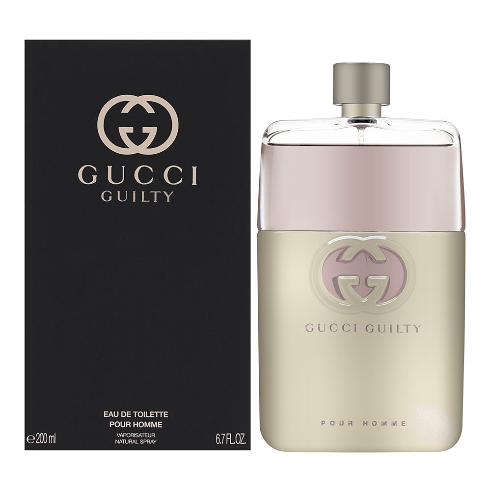 Gucci Guilty Pour Homme by Gucci for Men 6.7oz EDT Spray Shower Gel