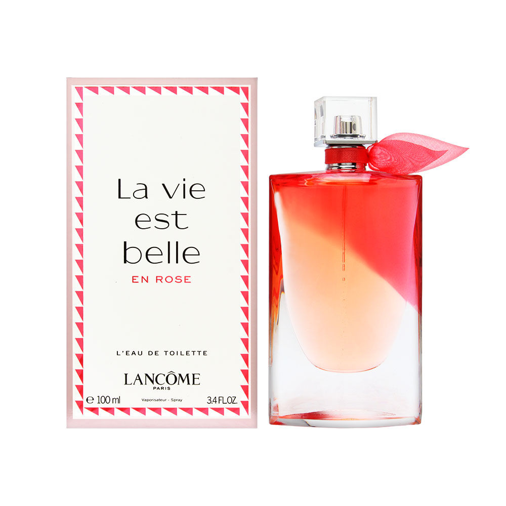 L'Oreal La Vie Est Belle En Rose by Lancome for Women 3.4oz EDT Spray