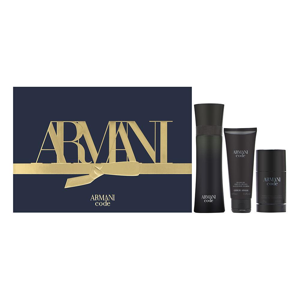 Armani Code by Giorgio Armani for Men 4.2oz Cologne EDT Spray Deodorant Stick