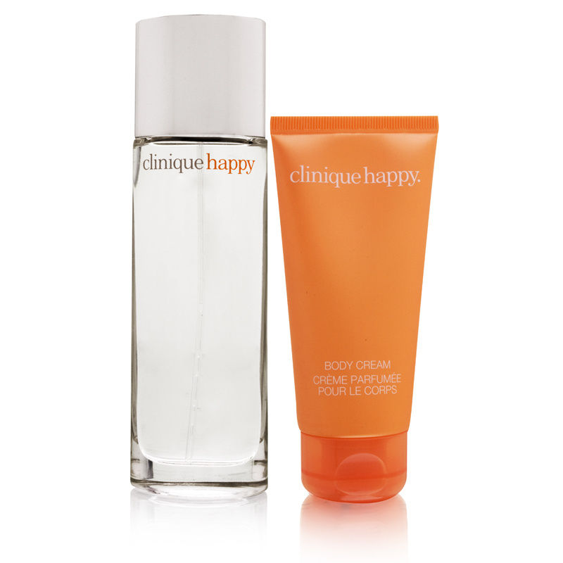 Happy by Clinique for Women 1.7oz Spray (Unboxed) Body Cream Gift Set